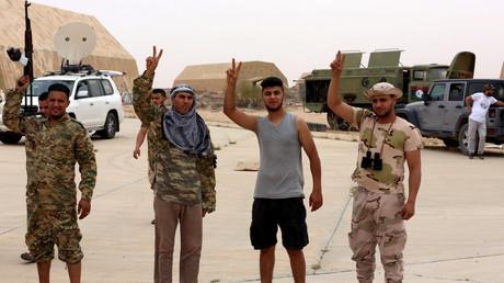 Kämpfer der international anerkannten libyschen Regierung. Archivbild.