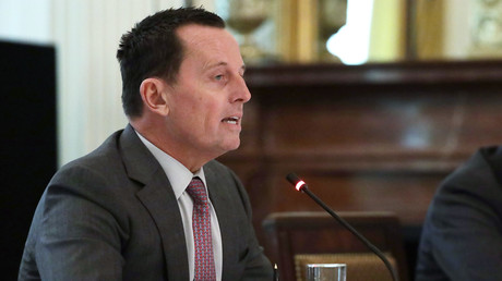 Richard Grenell spricht bei einer Kabinettssitzung im Weißen Haus in Washington, USA. (Bild vom 19. Mai)