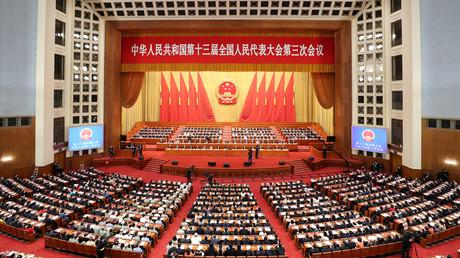 Der Nationale Volkskongress Chinas verabschiedete am Donnerstag den Plan zur Einführung eines Sicherheitsgesetzes in Hongkong.