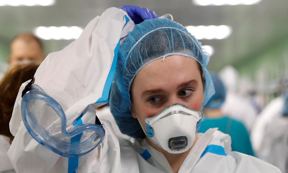 Umfrage: Fast ein Viertel der Russen hält Corona-Pandemie für erfunden