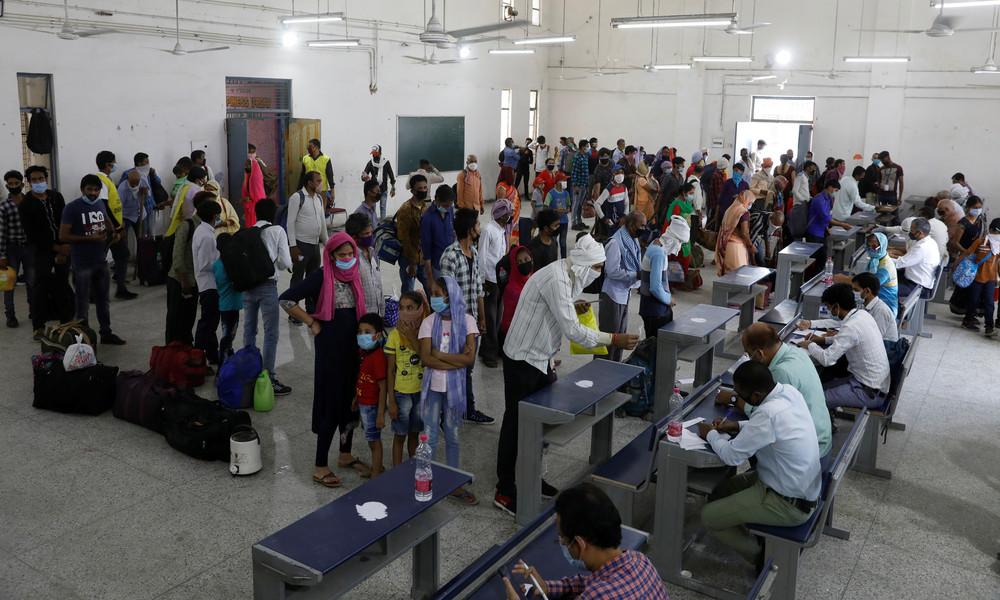 Wegen Corona-Lockdown: 122 Millionen Arbeitslose in Indien innerhalb eines Monats