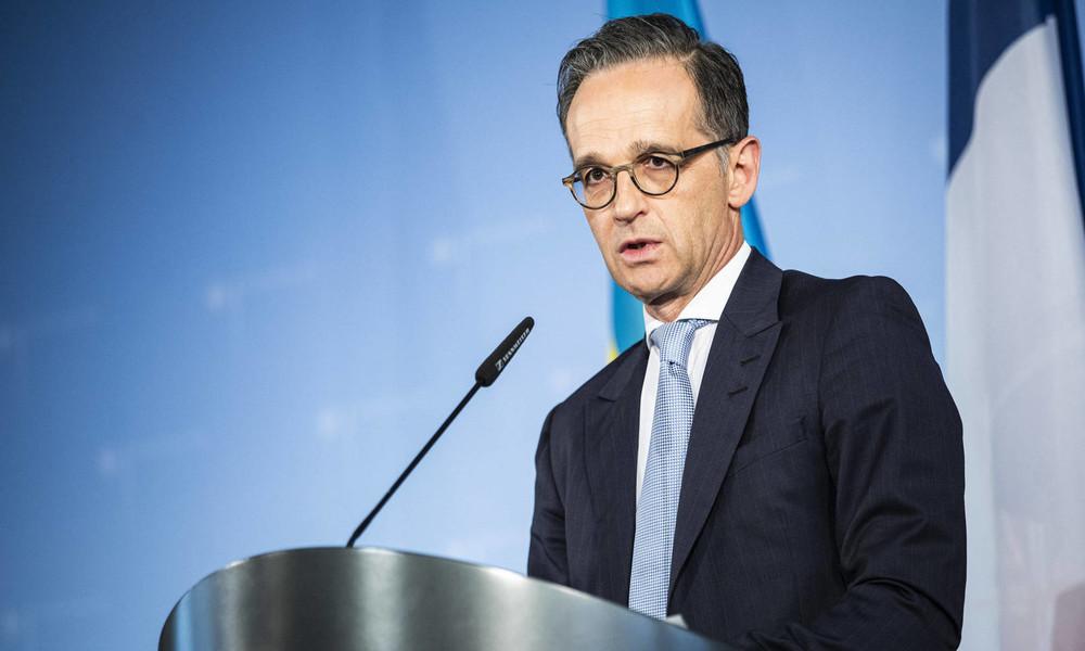 LIVE: Pressekonferenz von Außenminister Maas und seinem ukrainischen Amtskollegen