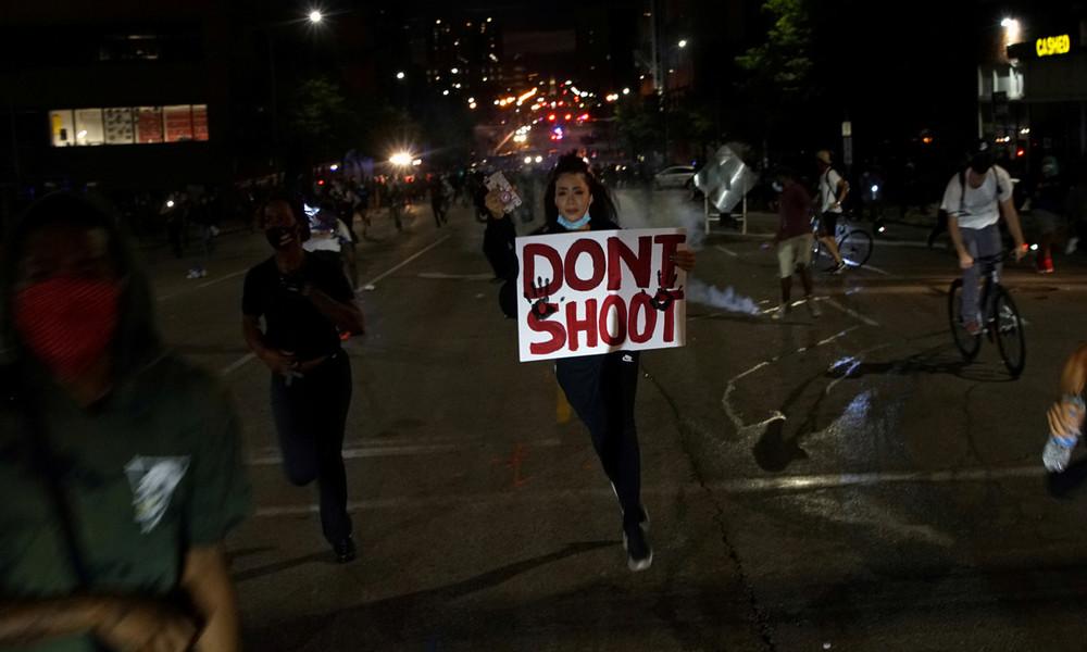 USA: Vier Polizisten in St. Louis bei Protesten gegen Polizeigewalt angeschossen