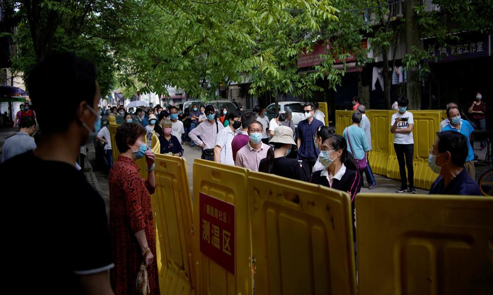 Wuhan: Zehn Millionen Menschen in zwei Wochen auf Coronavirus getestet – 300 asymptomatische Fälle