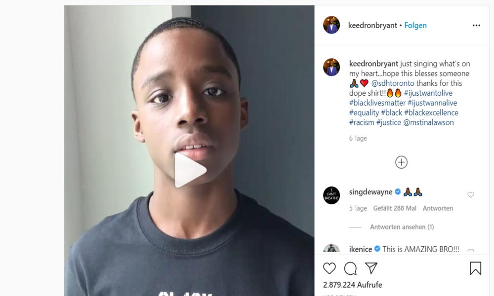Video geht viral: 12-jähriger Afroamerikaner landet mit Protestlied einen Hit