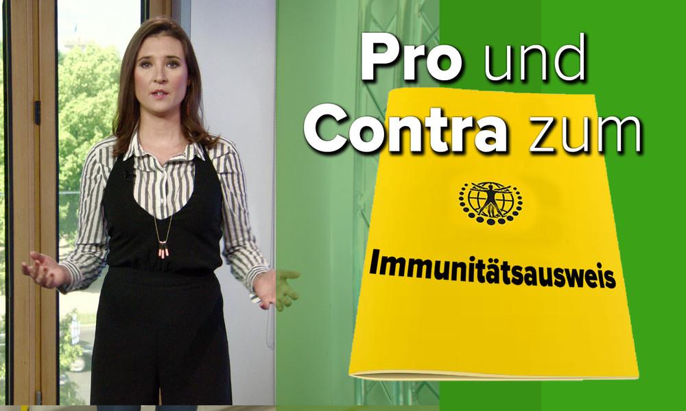 Immunitätsausweis: Mehr Bewegungsfreiheit oder mehr Einschränkungen? (Video)