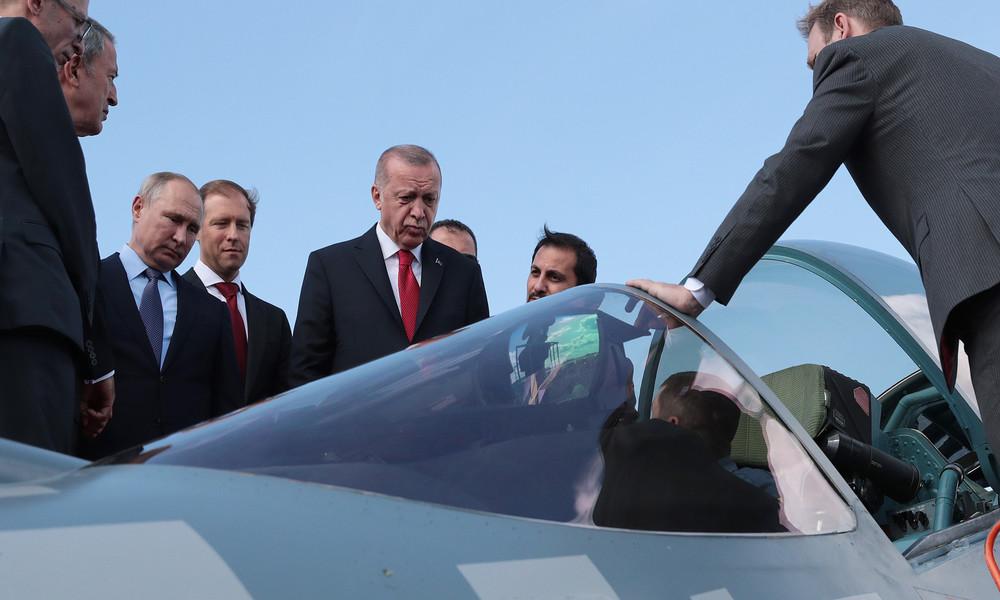 Russland und Türkei stehen vor weiteren Rüstungsgeschäften