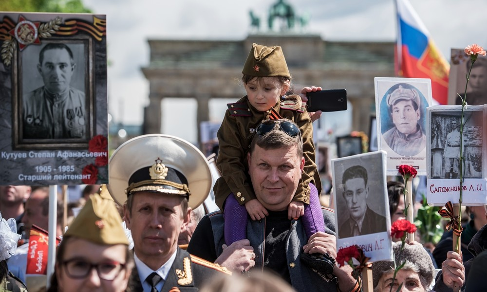 Berliner Senat: Wir wollen die Monopolisierung des Kriegsgedenkens durch Russland verhindern