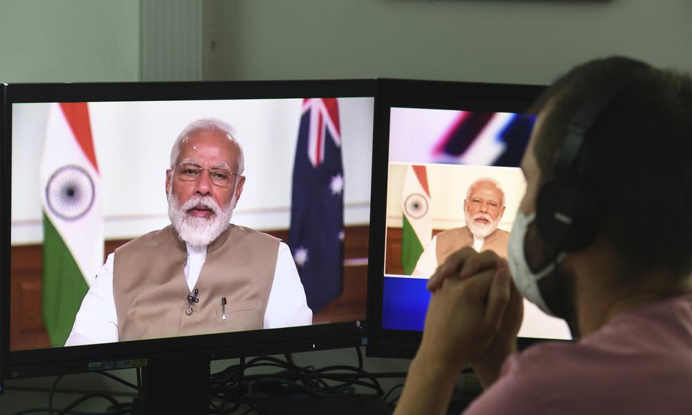 Um Chinas Einfluss zu begrenzen: Indien und Australien unterzeichnen Militärabkommen
