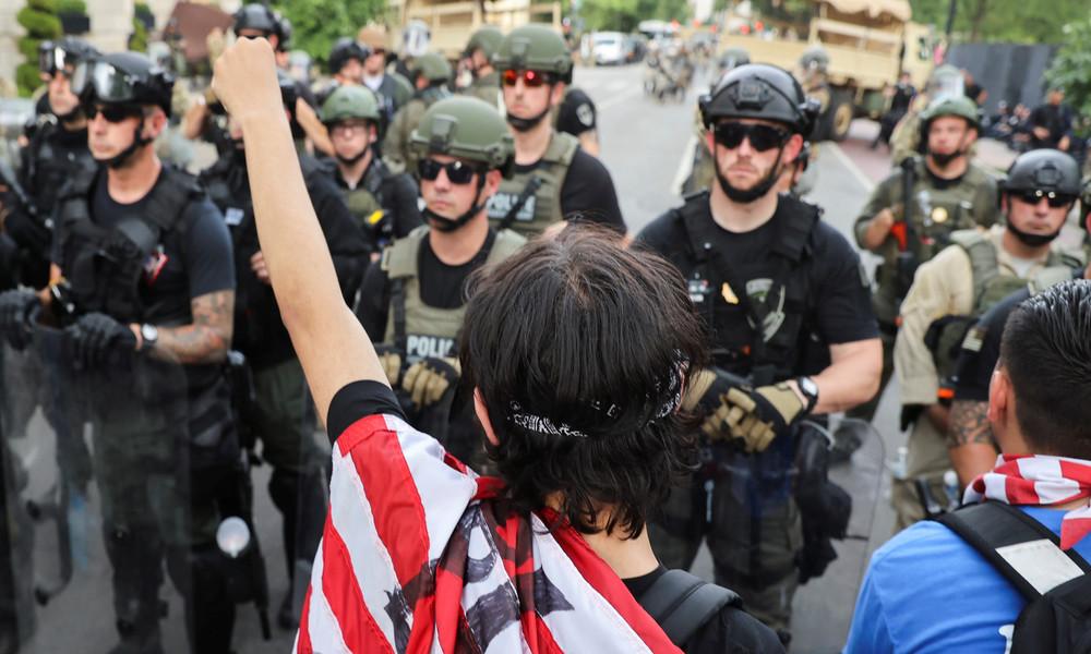 USA: Unruhen sind auch wirtschaftlich motiviert (Video)