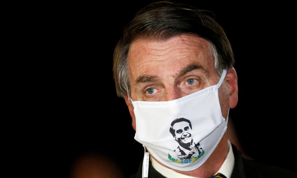 Brasiliens Präsident Jair Bolsonaro droht mit Rückzug aus WHO