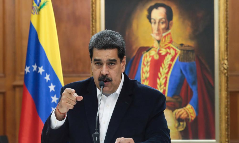 """Diagnose """"Maduritis"""": US-Regierung sieht Maduro als Drahtzieher hinter massiven Floyd-Protesten"""
