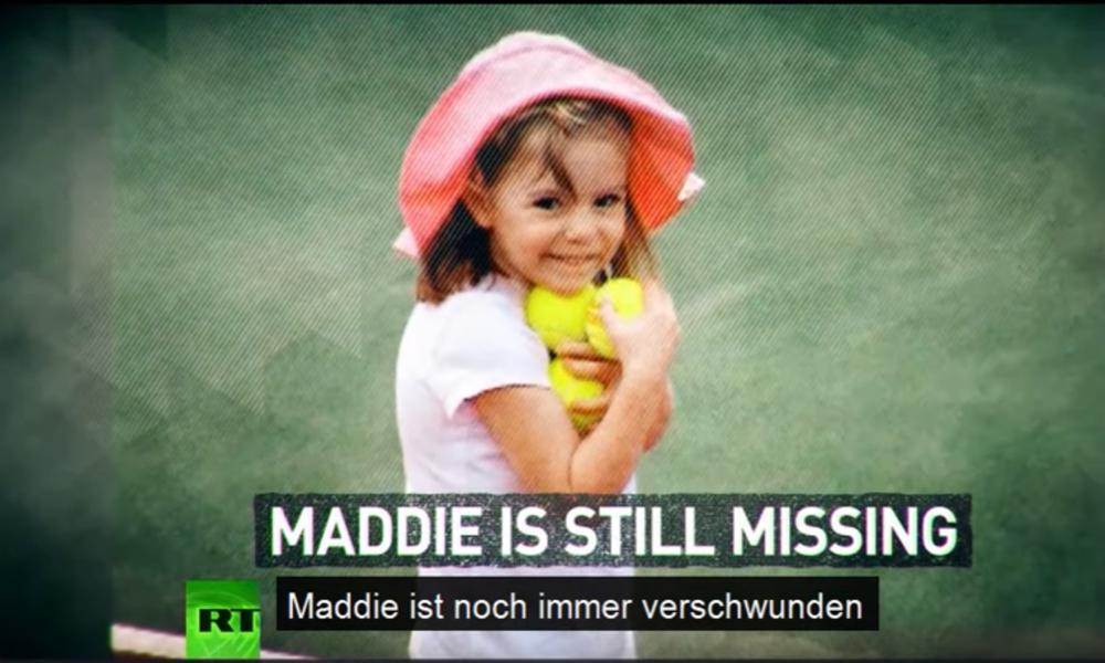 """Der Fall """"Maddie"""" McCann: Wurden Hinweise auf deutschen Verdächtigen ignoriert? (Video)"""