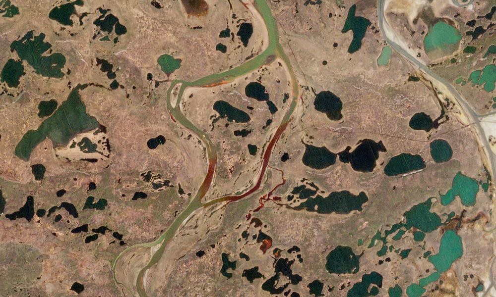 Nach Dieselleck in Russland: Nahe gelegener See verschmutzt