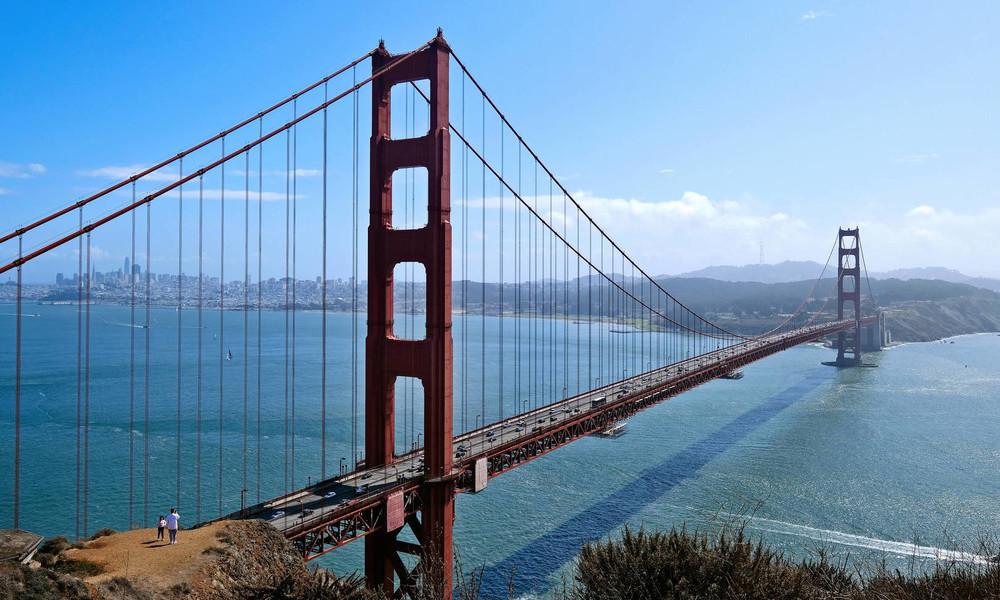 Summende Brücke: Unachtsamkeit von Ingenieuren verwandelt Golden Gate Bridge in Äolsharfe