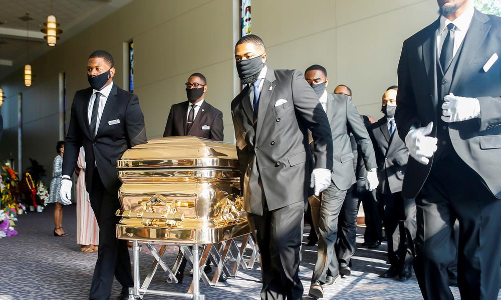 LIVE aus Houston: Beerdigung von George Floyd