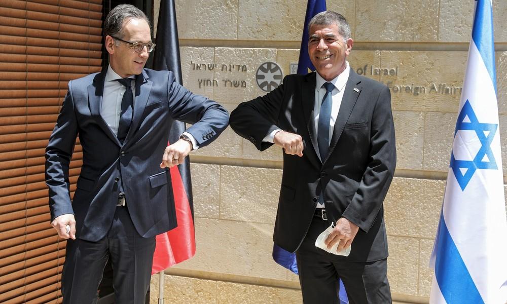 """Außenminister Maas in Israel: Deutschland ist """"besorgt"""" wegen Annexionsplänen"""