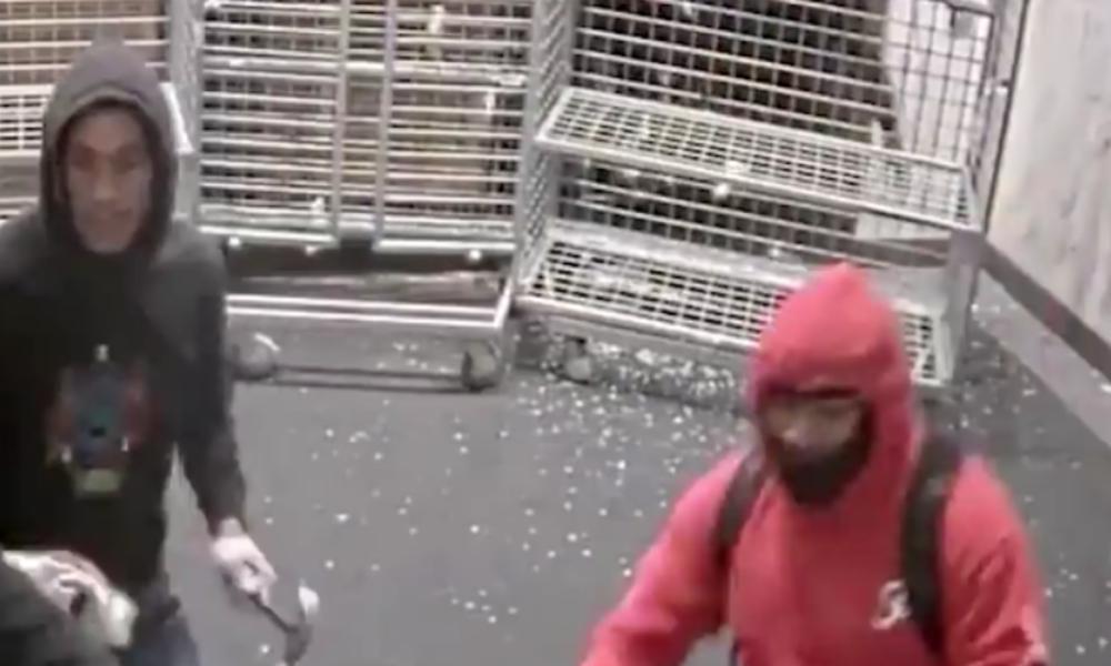 New Yorker Polizei veröffentlicht Video von Plünderungen