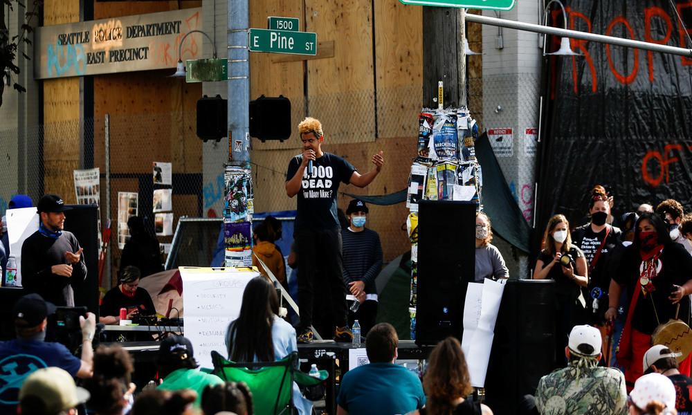 """""""Heimische Terroristen haben Seattle übernommen"""": Trump will gegen """"autonome Zone"""" vorgehen"""
