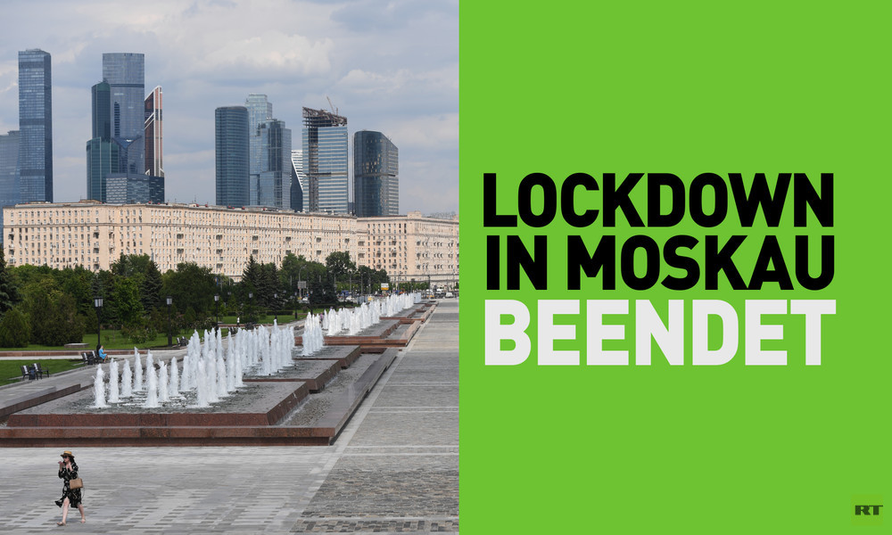 Lockdown in Moskau beendet
