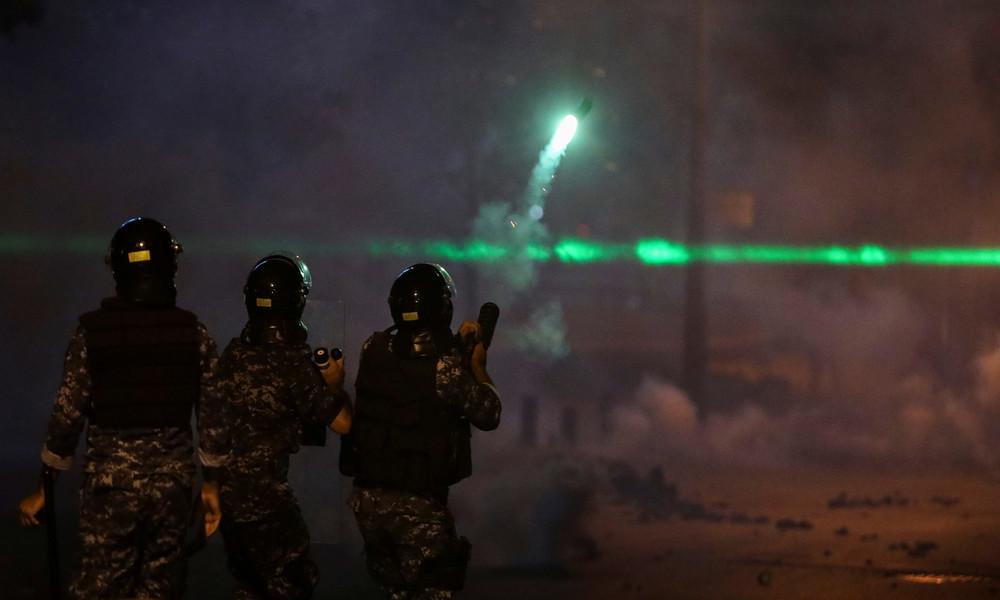Libanon: Ausschreitungen wegen Wirtschaftskrise halten an