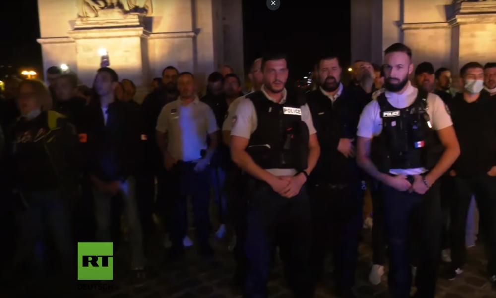 Rassismus-Debatte: Frankreichs Polizei demonstriert gegen Innenminister