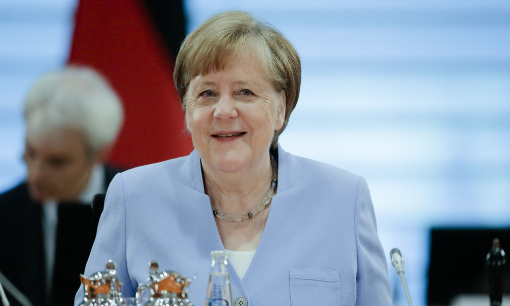 LIVE: Merkel und Pompeo sprechen im virtuellen Forum des American Jewish Committee