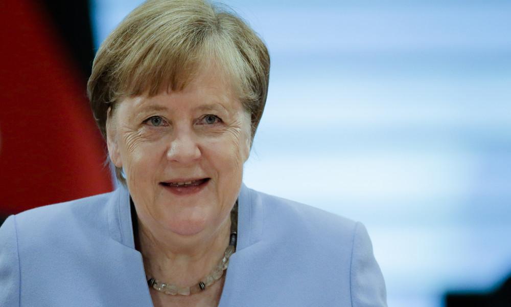 Merkel: Antisemitismus mit aller Macht und Kraft entgegenwirken