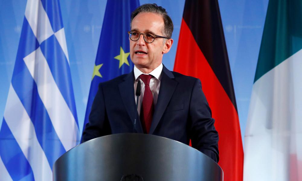 LIVE: Außenminister Heiko Maas gibt Pressekonferenz vor Treffen mit US-Amtskollegen Pompeo