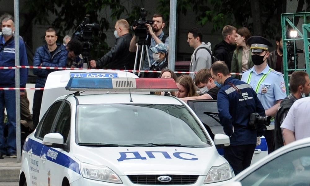 Schießerei in Moskau – zwei Verkehrspolizisten und der Angreifer schwer verletzt