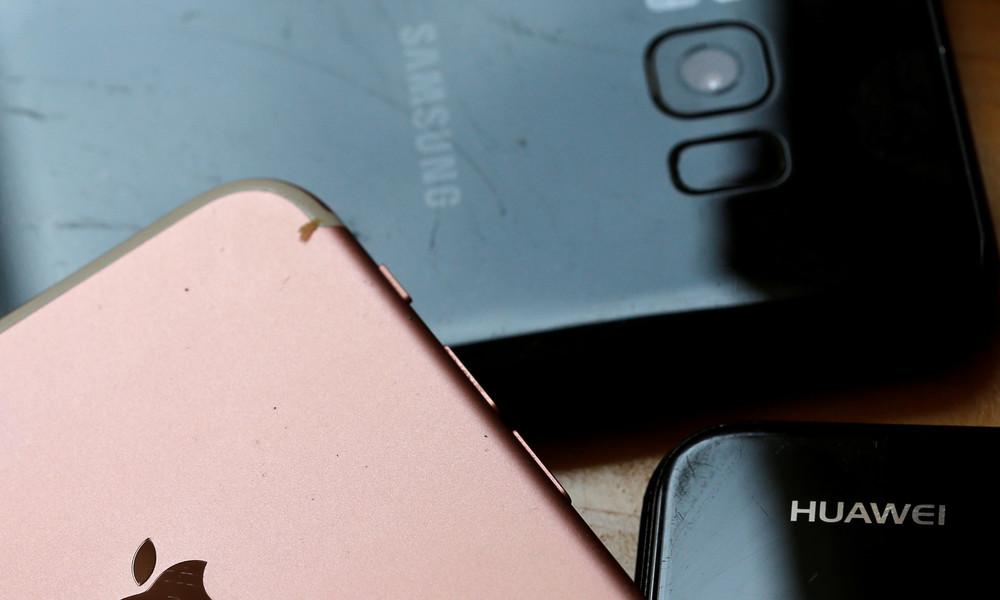 Huawei überholt Samsung als weltweit führenden Smartphone-Hersteller