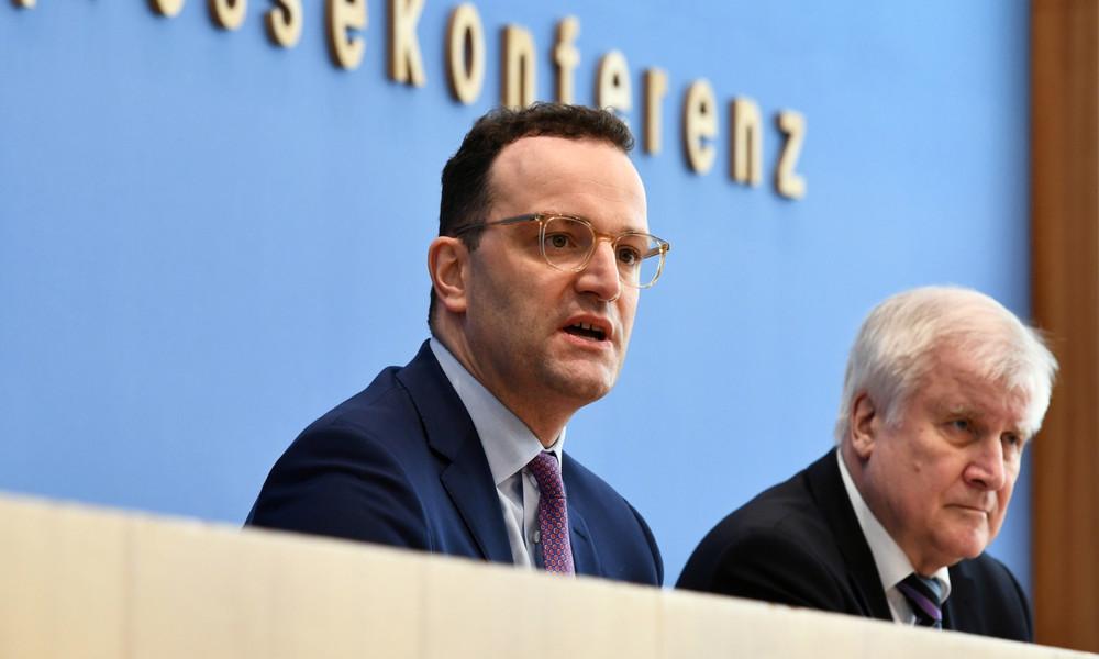 LIVE: Bundesminister Seehofer, Spahn, Lambrecht und Braun stellen in Berlin die Corona-App vor