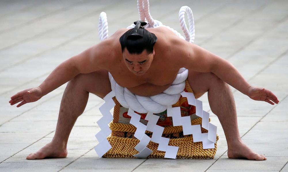 Japanische Sumoringer werden immer schwerer – Übergewicht führt zu Gesundheitsproblemen