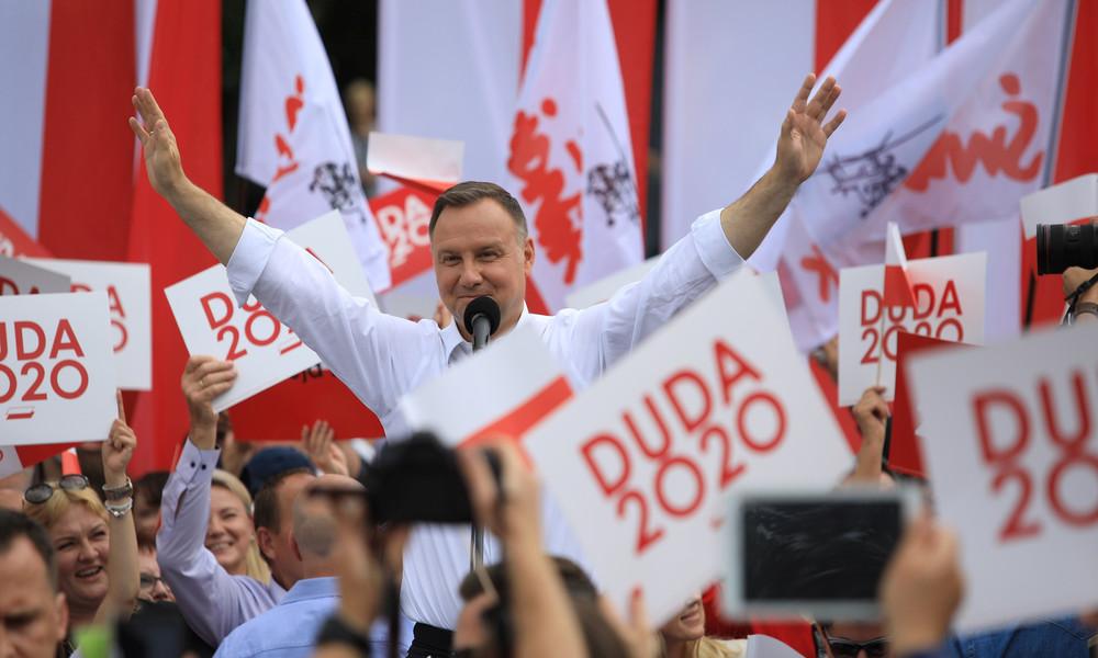 """""""Keine Menschen, nur Ideologie"""": Polens Präsident sorgt mit homophober Wahlkampfrhetorik für Aufruhr"""