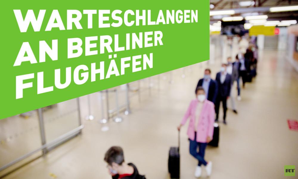 Warteschlangen an Flughäfen: Deutschland verreist wieder
