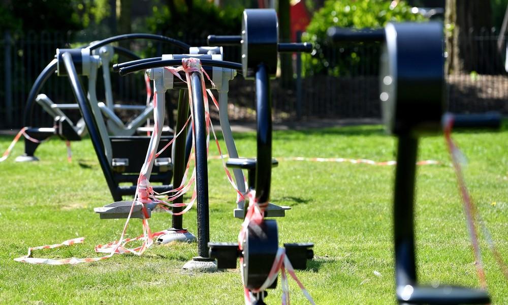 Gesunder Geist ohne gesunden Körper: Sportgerät hält sich wie von Zauberhand fit