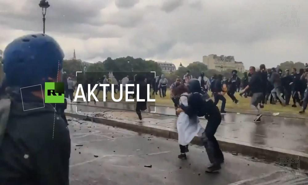 Frankreich: Krawalle und Polizeigewalt bei Protesten von Ärzten und Pflegern