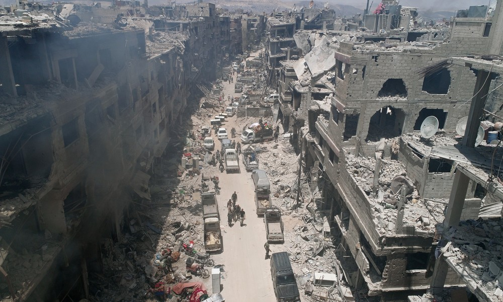 """""""Caesar-Gesetz"""": USA wollen Syrien mit verschärften Sanktionen in die Knie zwingen"""