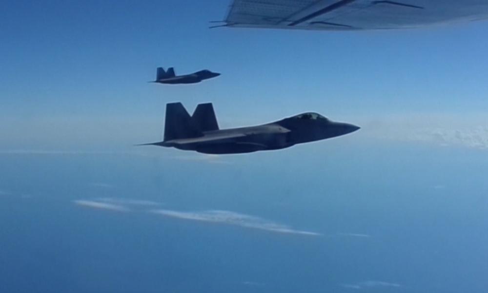 US-Kampfflugzeuge eskortieren russische Bomber nahe Alaska