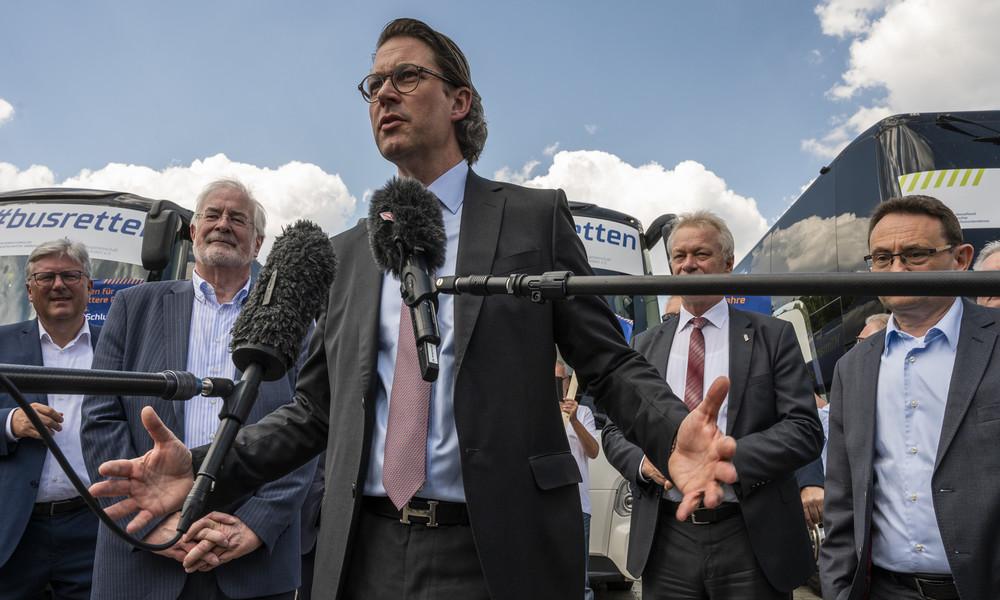 """Verschwendete Pkw-Maut-Steuergelder: """"Skandal, dass Andreas Scheuer noch im Amt ist"""""""