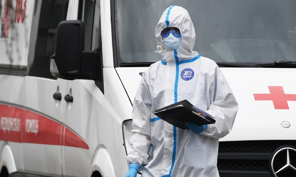 Fast 500 Corona-Tote bei medizinischem Personal in Russland