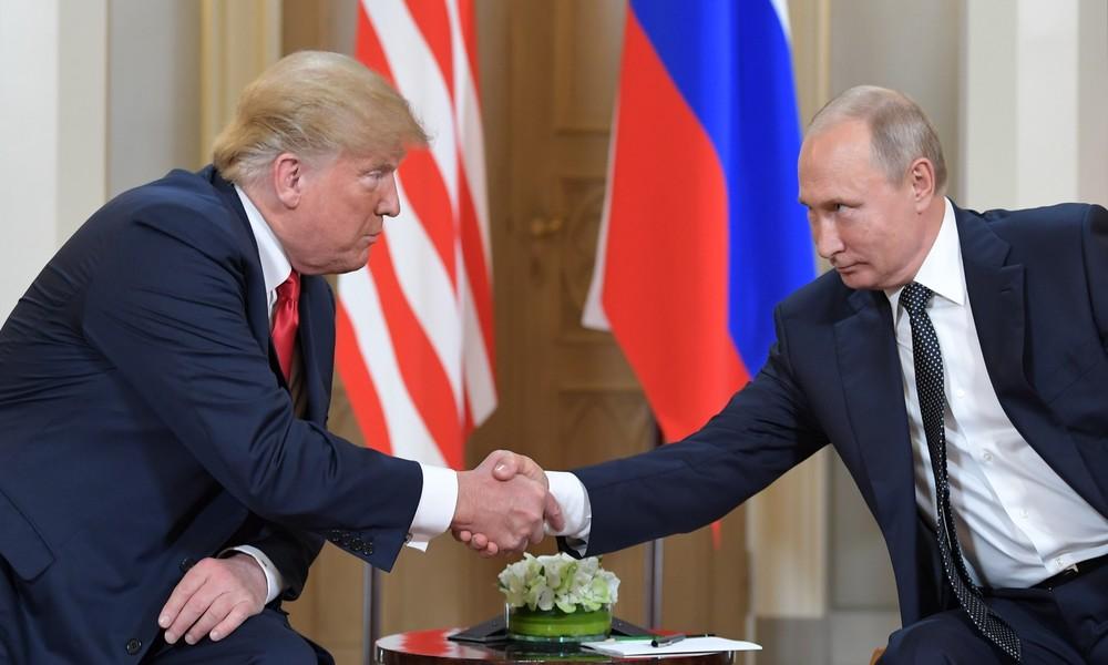 """Kremlsprecher Peskow widerspricht Bolton: Putin kann Trump nicht """"wie eine Geige"""" spielen"""