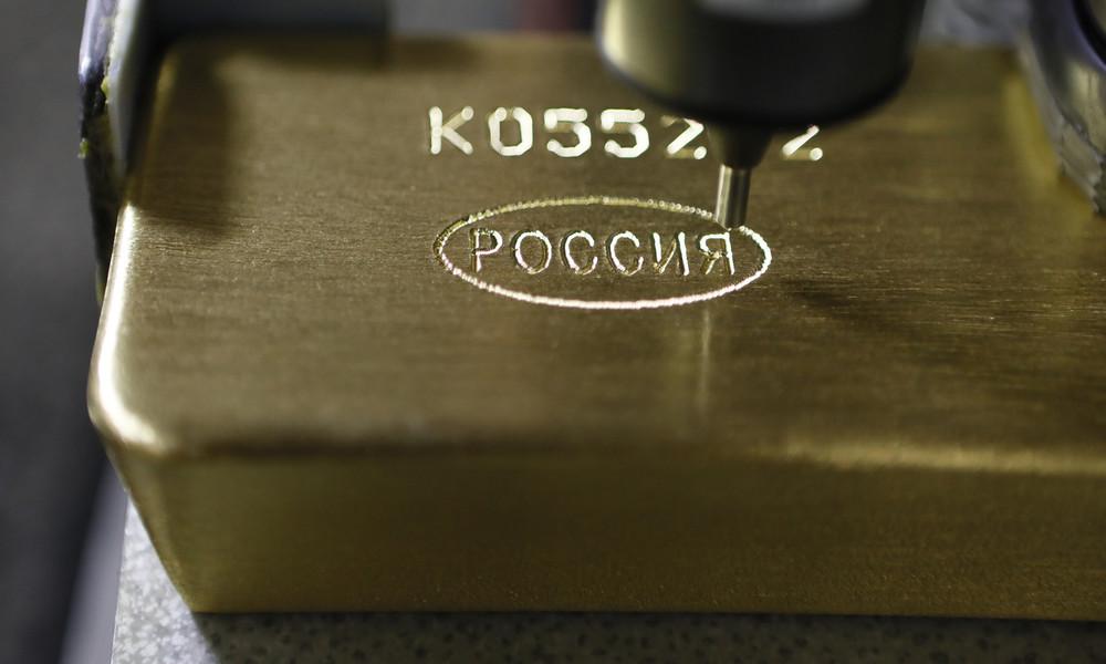 Fitch: Russland wird China unter Druck der US-Sanktionen bei der Goldproduktion überholen