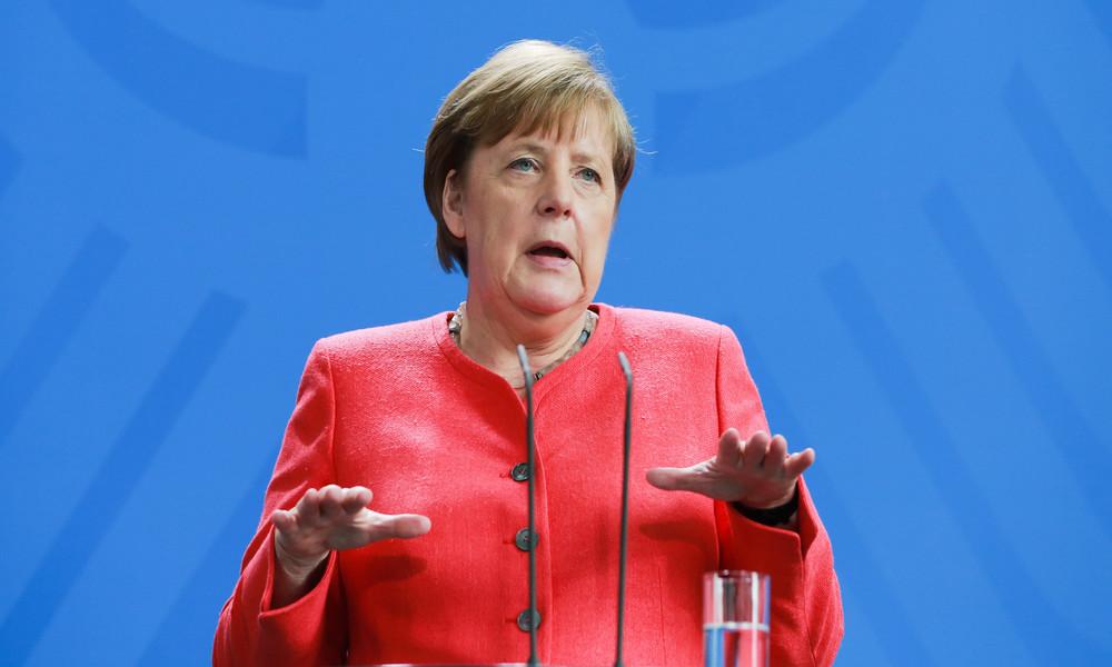 """Sie kann """"unser Begleiter und Beschützer werden"""": Kanzlerin Merkel wirbt für Nutzung der Corona-App"""