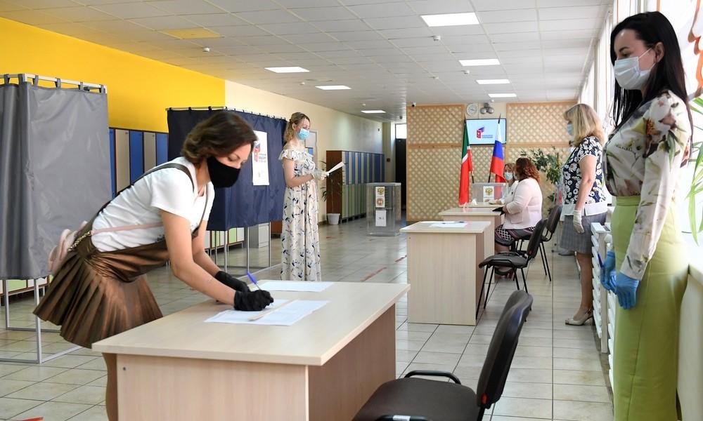 In Russland startet Abstimmung über Verfassungsänderungen