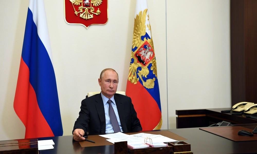 """""""Wir werden sehen"""": Putin schließt nicht aus, für fünfte Amtszeit zu kandidieren"""