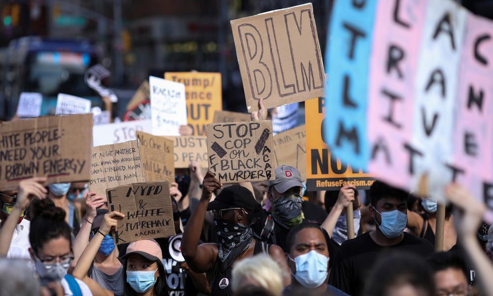 Proteste in den USA: Ex-UN-Botschafterin gibt Russland Schuld – und wird von Diplomaten verspottet