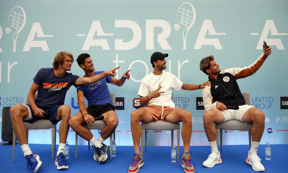 Kater nach der Tennis-Party: Novak Đoković und weitere Spieler positiv auf Coronavirus getestet