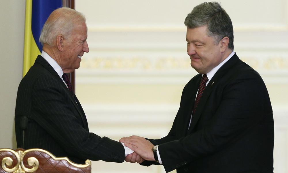 Joe Biden und die Geschäfte in der Ukraine (Video)