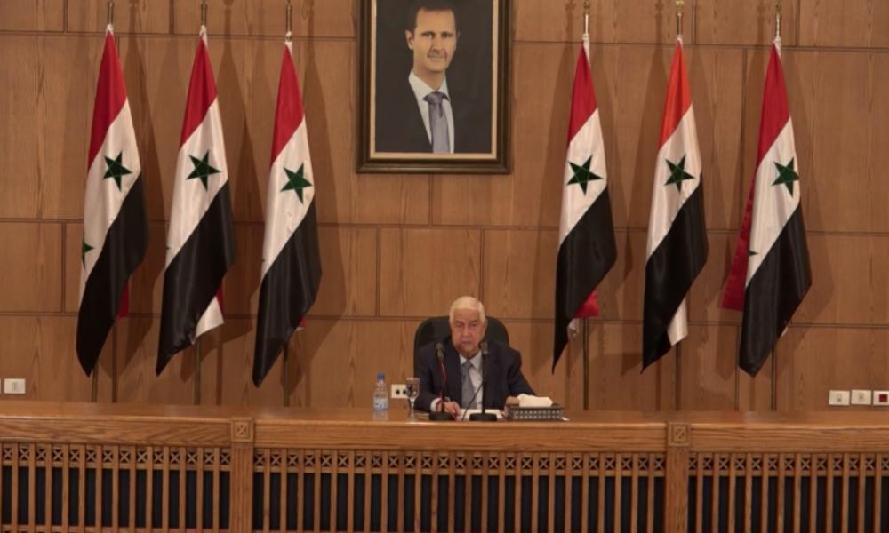 Syrien sagt Ägypten in Libyen-Frage Unterstützung zu und attackiert USA scharf